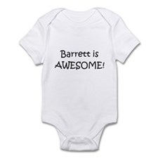 Unique I love barrett Infant Bodysuit