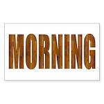 Rising and Shine Rectangle Sticker 50 pk)