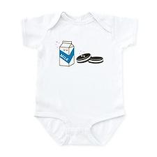 Oreos and Milk Infant Bodysuit
