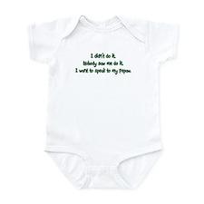 Want to Speak to Pepaw Infant Bodysuit