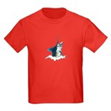 Blue marlin Jumping T