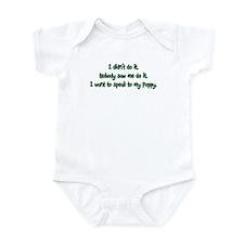 Want to Speak to Poppy Infant Bodysuit