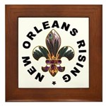 New Orleans Rising : Framed Tile