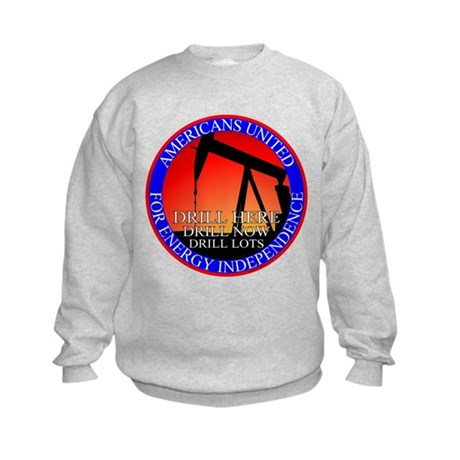 Energy Independence Kids Sweatshirt