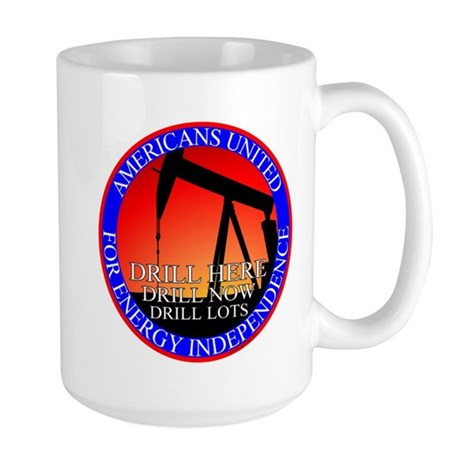 Energy Independence Large Mug
