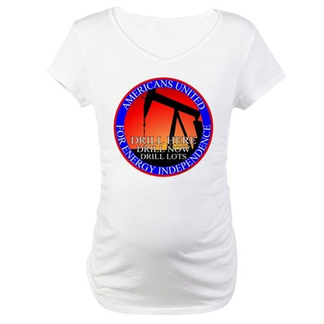 Energy Independence Maternity T-Shirt