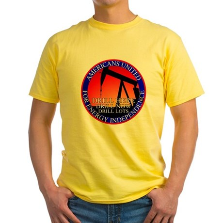 Energy Independence Yellow T-Shirt