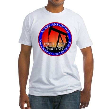 Energy Independence Fitted T-Shirt