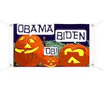 Pumpkin Patch Obama-Biden Banner