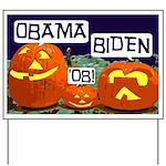 Pumpkin Patch Obama Yard Sign