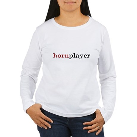 Hornplayer Women's Long Sleeve T-Shirt
