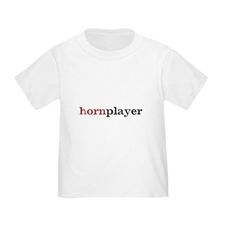 Hornplayer Toddler T-Shirt