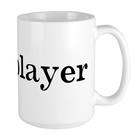 Hornplayer Large Mug