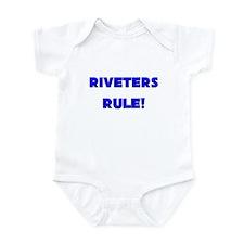 Riveters Rule! Infant Bodysuit