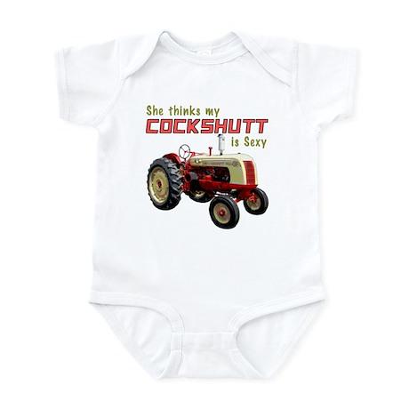 Sexy Cockshutt Tractor Infant Bodysuit