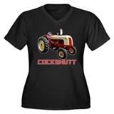 Sexy Cockshutt Tractor Women's Plus Size V-Neck Da