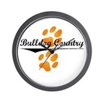 Bulldog Country Wall Clock