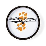Bulldog Country Wall Clock