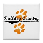 Bulldog Country Tile Coaster