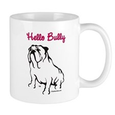 Hello Bully Logo Mug