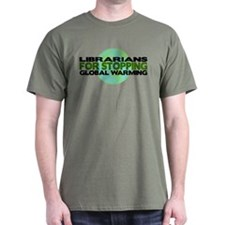 Librarians Stop Global Warming T-Shirt