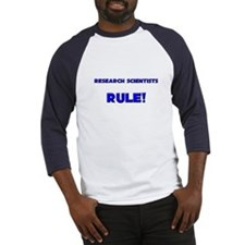 Research Scientists Rule! Baseball Jersey