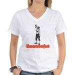 Baracktoberfest Women's V-Neck T-Shirt