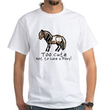 Too Cute Pony Shirt