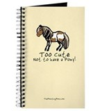 Too Cute Pony Journal