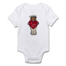 Valentine Sailor Infant Bodysuit