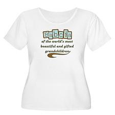 Babcia of Gifted Grandchildren T-Shirt