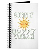 Shiny Happy Vegan Journal