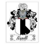 Naselli Family Crest Small Poster