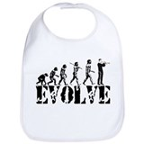 Trumpet Evolution Bib