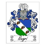Negri Family Crest Small Poster