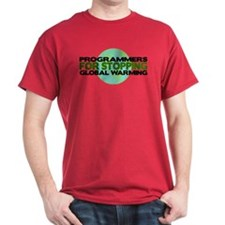 Programmers Stop Global Warming T-Shirt