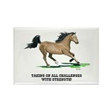 Champion Horse Rectangle Magnet (10 pack)