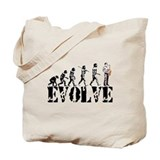 Sax Saxophone Evolution Tote Bag