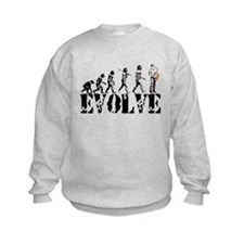 Sax Saxophone Evolution Sweatshirt