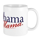 Obama Mama Navy Coffee Mug