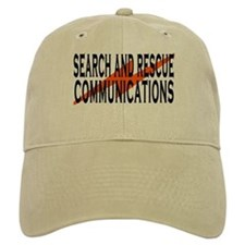 SAR COMM 2 Baseball Cap White or Khaki