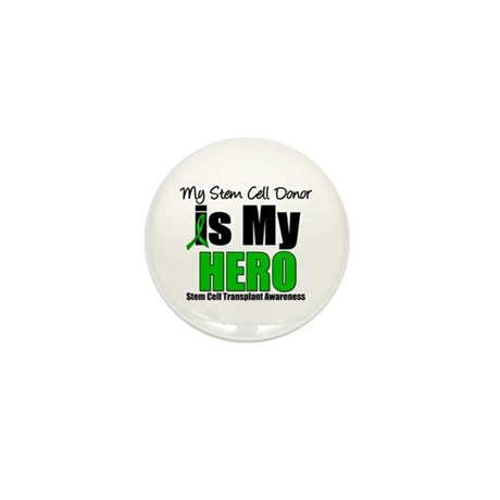 My Stem Cell Donor is My Hero Mini Button (10 pack