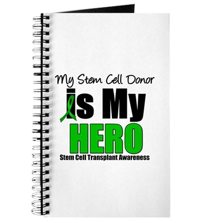 My Stem Cell Donor is My Hero Journal