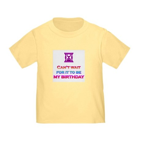 Birthday Toddler T-Shirt