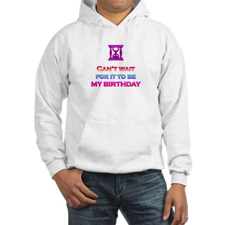 Birthday Hooded Sweatshirt