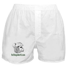 Green Logo Boxer Shorts
