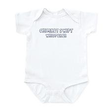 Chimney Swift Whisperer Infant Bodysuit