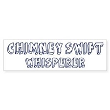Chimney Swift Whisperer Bumper Sticker (10 pk)