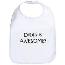 Cute I love debbie Bib