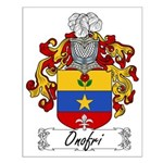 Onofri Family Crest Small Poster